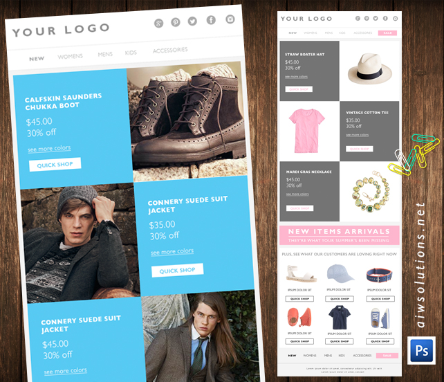 Email Marketing Eblast Template Email Template Fashion Email Marketing Email Email Template