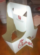 Chick-fil-A - Modified Drink Holder (3)