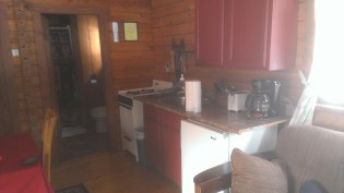 Forest Ridge Campgroundsa and Cabins | Allegheny Cabin - Kitchen
