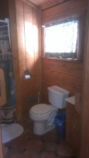Forest Ridge Campgroundsa and Cabins   Allegheny Cabin - Bathroom