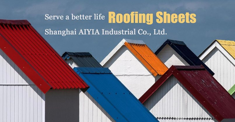 roofing sheet supplier in China