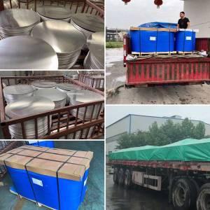 Aluminum circle export to Guinea in Africa