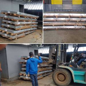 African customers receive galvanized steel sheets