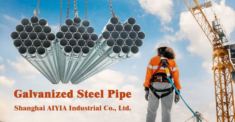 galvanized steel pipe/tube supplier in China