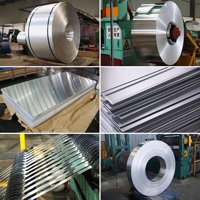 foglio di alluminio striscia di alluminio bobina di alluminio piastra di alluminio rotolo di alluminio