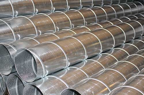 Welded Spiral Stainless Steel Pipe
