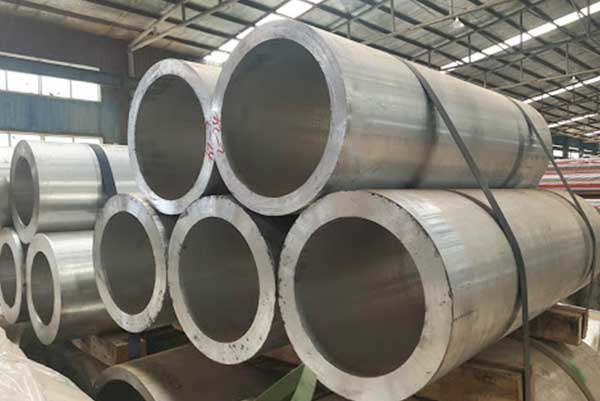 Tubo de alumínio de grande diâmetro
