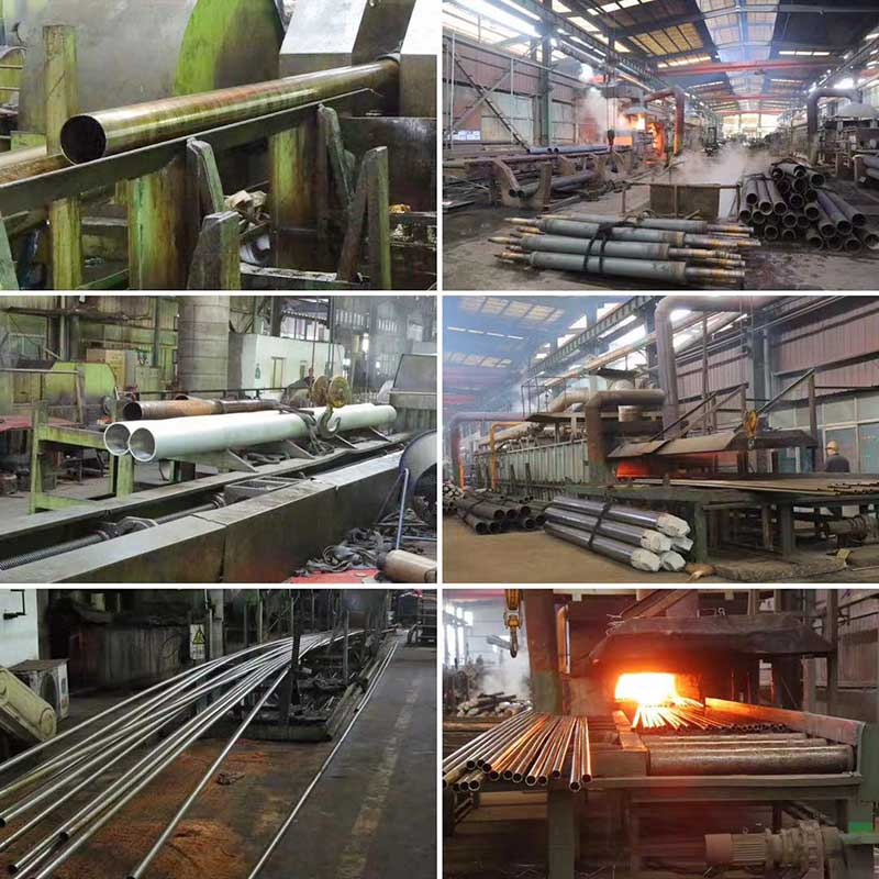 Sealed Stainless Steel Pipe Production Line