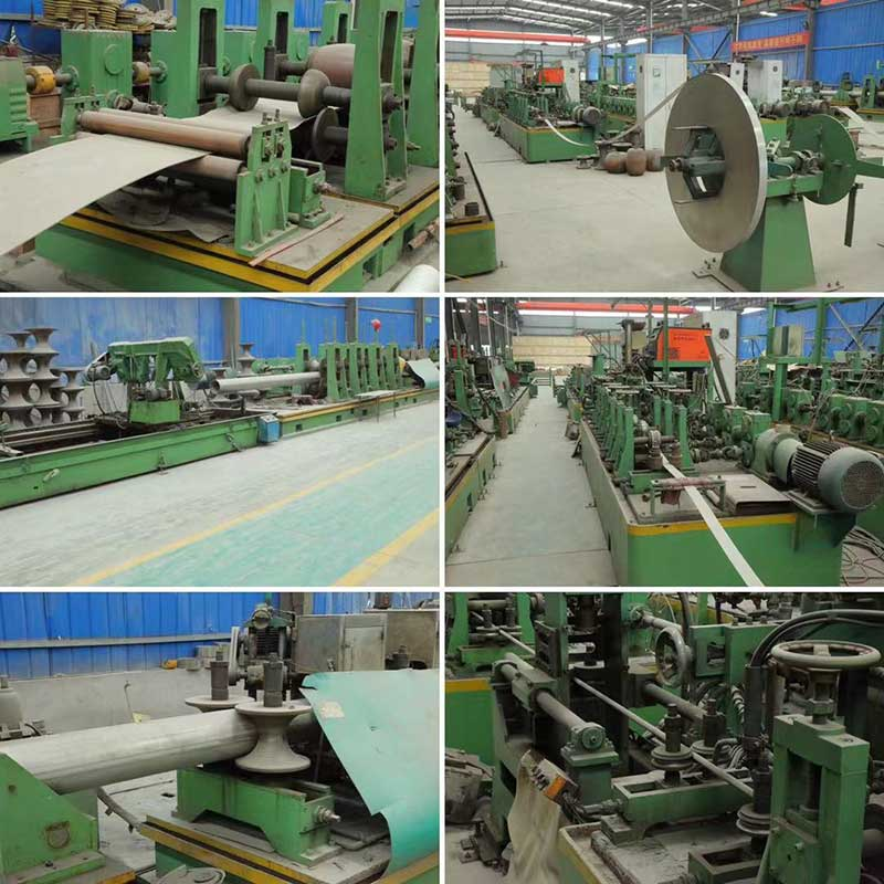 Welded Stainless Steel Pipe Production Line