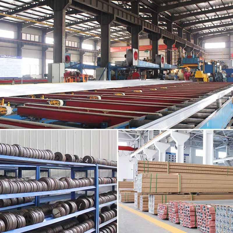 linha de produção de tubo de alumínio