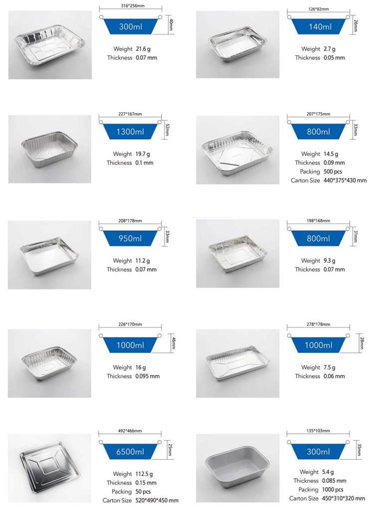 Aluminum foil container 03