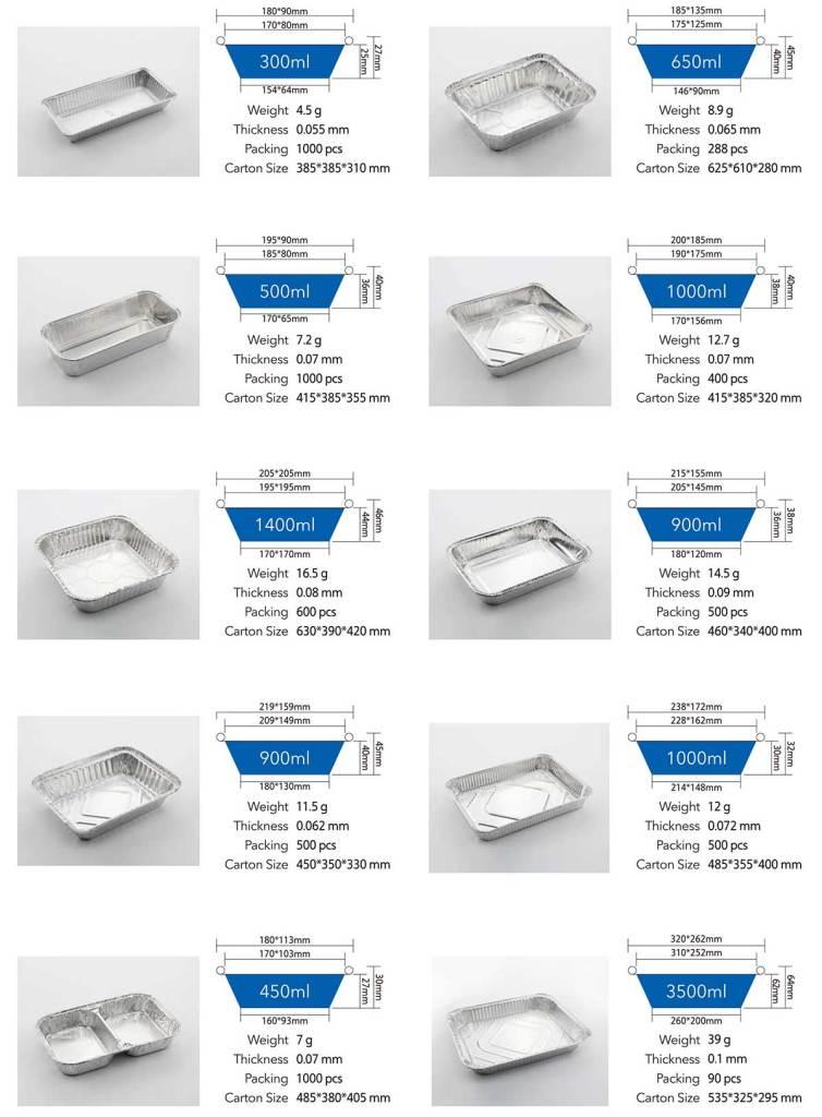 Aluminum foil container 02