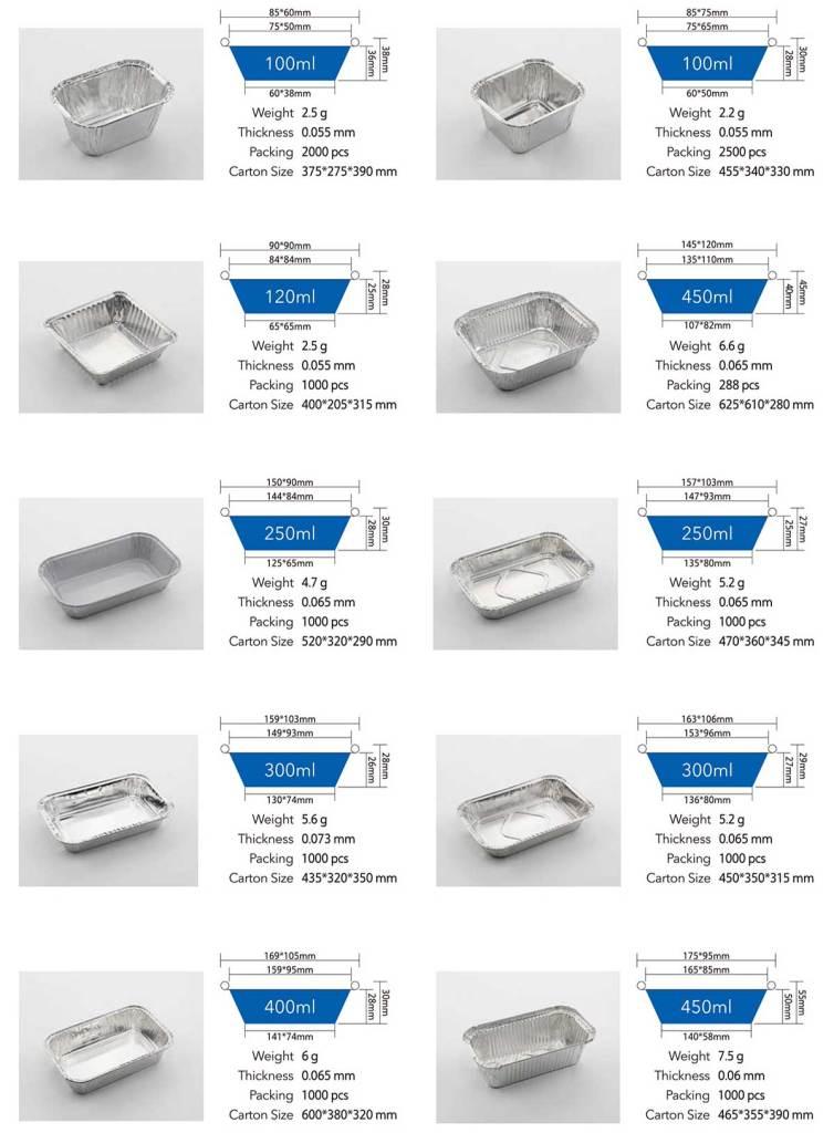 Aluminum foil container 01
