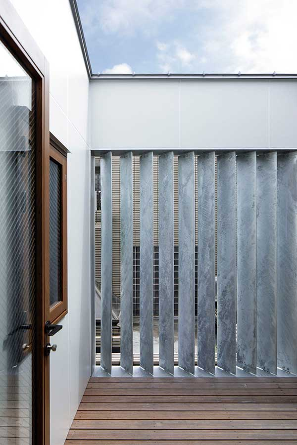 Duplex house made of galvanized steel panel 04