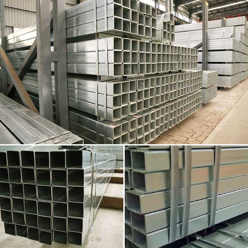 Square Galvanized Seel Pipe