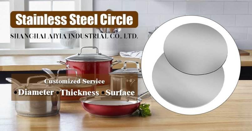 fabricante de círculo de aço inoxidável na China