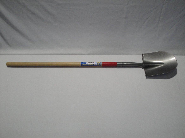 Irrigation Shovel, Rounded, Full View