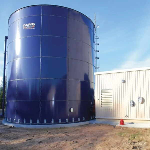 Tank Connection - Steel Bolted Tank - 3 - AMP