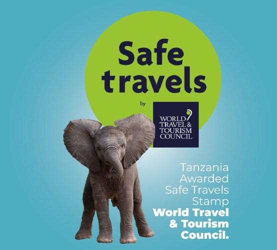 Safe Travels Stamp Tanzania WTTC