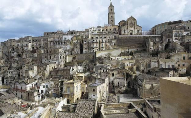 Ancient Rock City of Matera, Italy