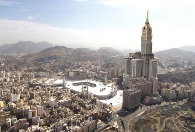 Menara Abraj Al Bait (601 m)