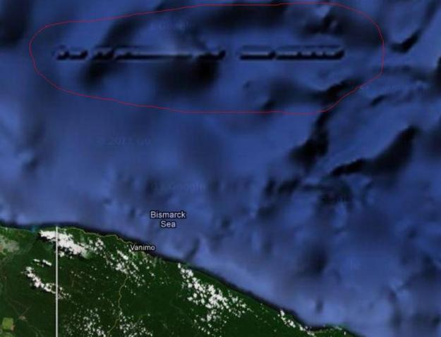 Bangunan Mirip Benteng Ditemukan di Laut Utara Papua