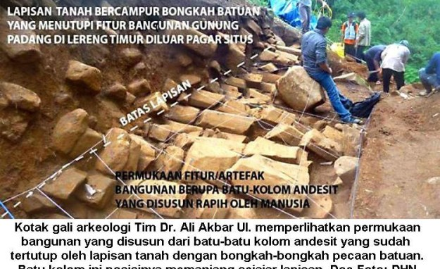 Memahami Fenomena Columnar Joints di Gunung Padang