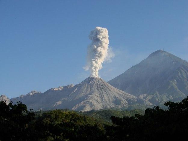 Gunung Santa Maria, Guatemala