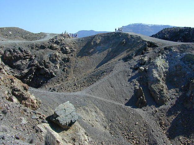 Kawah Gunung Thera, Yunani