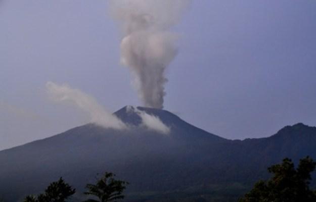 Letusan Gunung Slamet Berbeda dengan Merapi dan Kelud