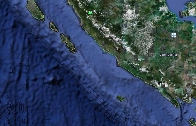 Gunung Api Bawah Laut Bengkulu Berpotensi Tsunami