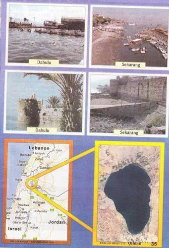 Air Danau Tiberias Kian Menipis