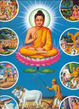 Dewa Tertinggi yang Dipuja Agama Budha