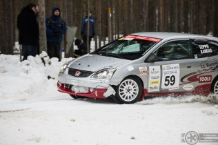 #59 Jussi Teppo / Honda Civic Type R. Pohjanmaa-ralli, EK3.