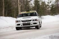 #7 Juha Pasanen / Mitsubishi Lancer Evo 9. Pohjanmaa-ralli EK4
