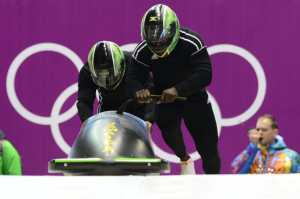 Jamaica: Bobsleigh-Two-man with Winston Watts & Marvin Davis