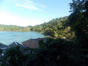 View from Moon San Villa Balcony