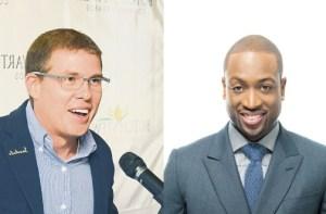 NBA Dwyane Wade and Sandals Foundation CEO Mr. Adam Stewart