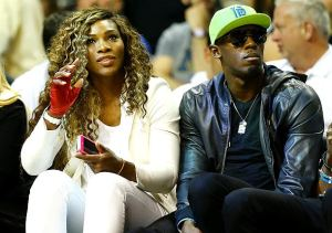 Serena Williams & Usain Bolt