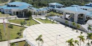 Montego Bay Convention Center in Jamaica, ready for business.