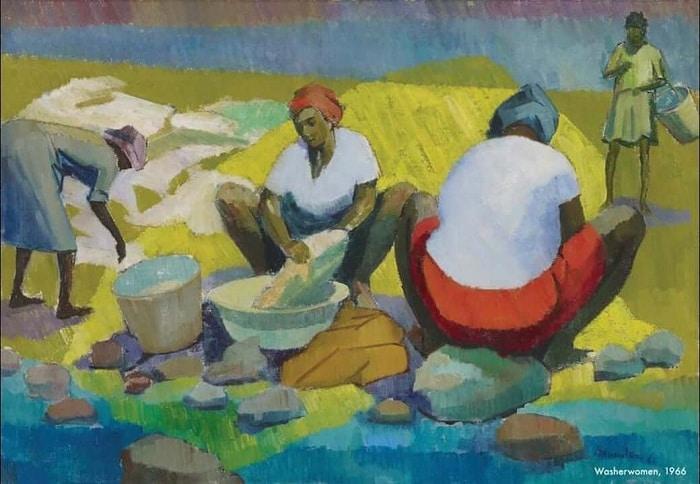 jamaican artists: Barrington Watson
