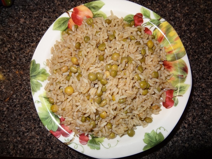 Jamaican Coconut Rice and Peas