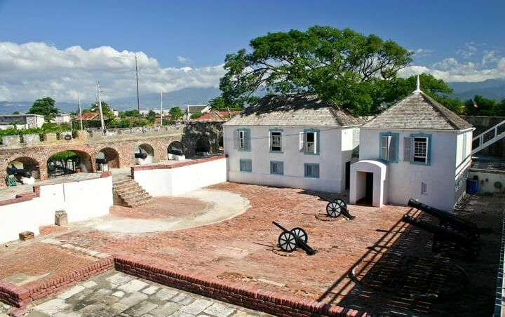 Fort Charles in Kingston, Jamaica