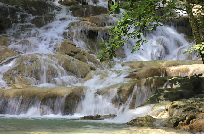 Mayfield Falls in Jamaica