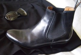 My ultimate chelsea boots -- extra pointy Fluevogs!