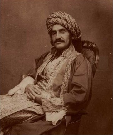 Hormuzd Rassam in the mid 19th century. Many people forget that the Cyrus Cylinder was not found in Iran, but rather, in present-day Iraq.