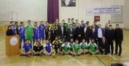 SAM 9645 1 - Şehidimiz Fatih Kalu Anısına Düzenlenen Voleybol Turnuvası Sona Erdi