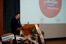 DSC 6223 1 - 14 Mart Tıp Bayramı Üniversitemizde Düzenlenen Törenle Kutlandı