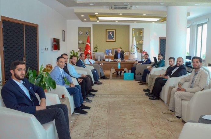 DSC 1258 - TÜGVA'dan Rektör Alişarlı'ya Ziyaret