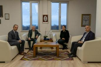 DSC00441 - Bolu Milletvekili Arzu Aydın, Rektör Alişarlı'yı Ziyaret Etti